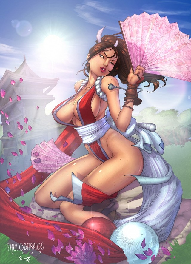 king of fighters hentai hentai king mai shiranui fighters hentairing paulo barrios
