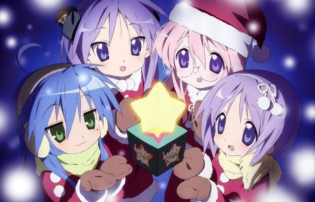 lucky star hentai anime photos clubs star lucky navidad