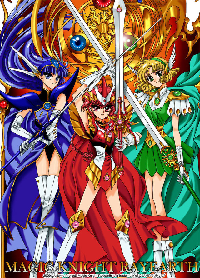 magic knight rayearth hentai manga games pre digital morelikethis artists magic valkyrie fanart knight project rayearth