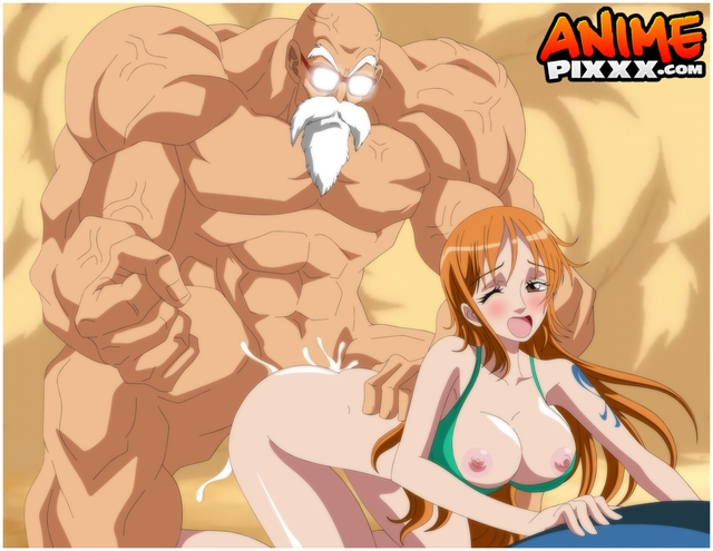one piece hentai hentai dragon one piece master nami ball roshi