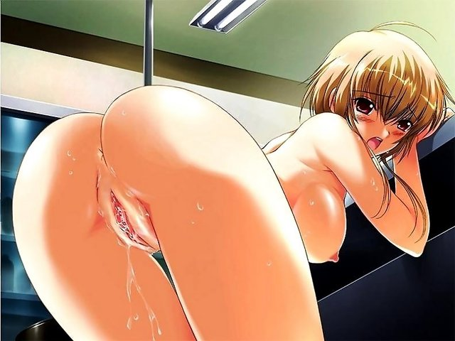 pussy juice hentai anal bdsm blonde hair cum ass breasts bent over bondage