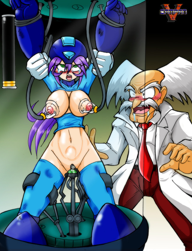 rockman hentai pictures user vcampan revenge wilys