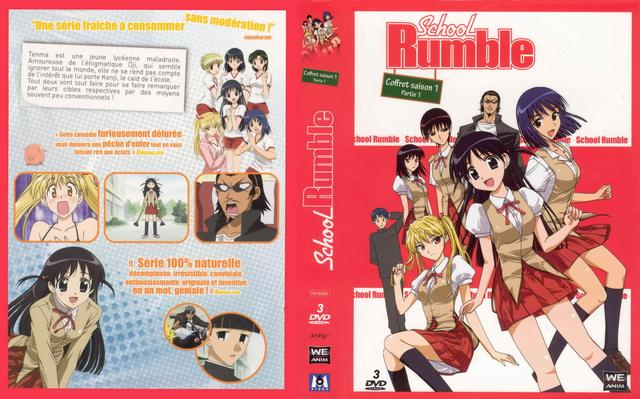 school rumble hentai school volume covers cov french rumble