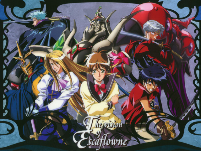 vision of escaflowne hentai secret vision main santa escaflowne