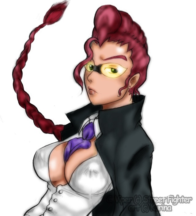 c viper hentai capcom colored viper aelamas