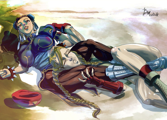 cammy hentai cosplay pre digital morelikethis fanart painting cammy chunli bmadrid