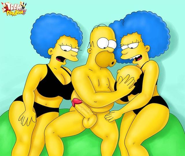 cartoon hentai toons hentai simpsons