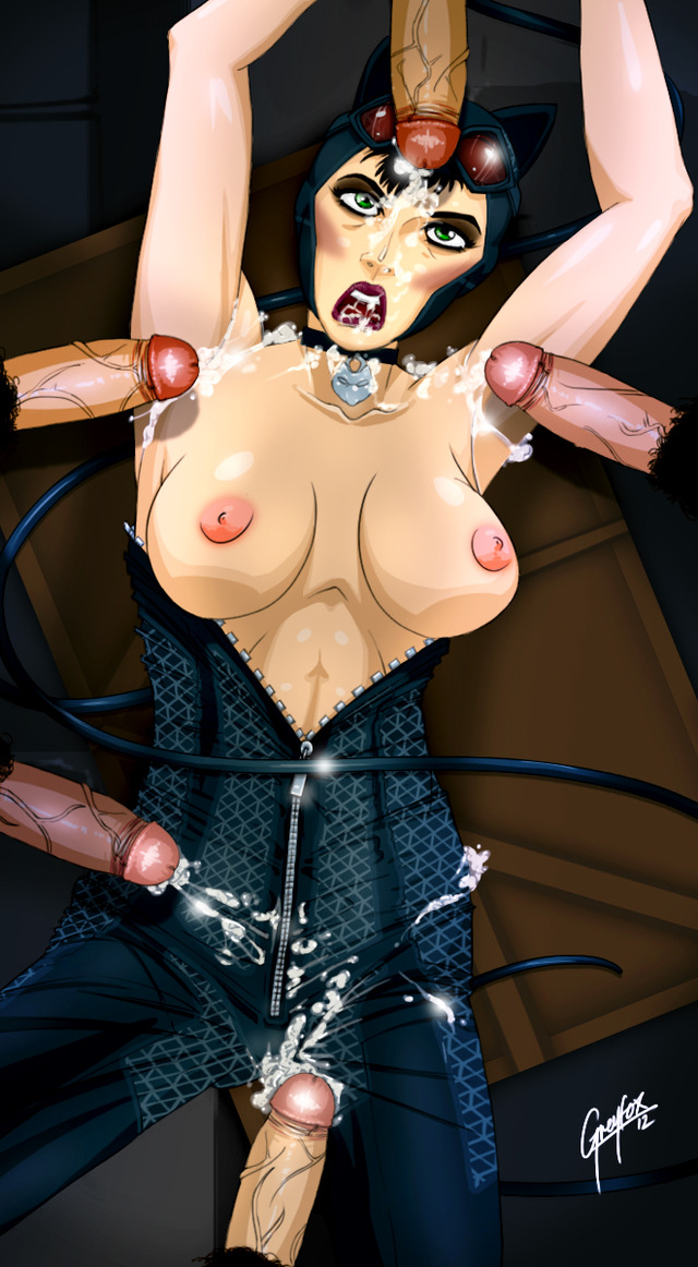 cat woman hentai pics pictures user gangbang catwoman greyfox