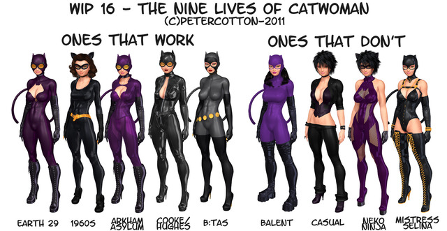 cat woman hentai pics art lives catwoman wip petercotton wgok