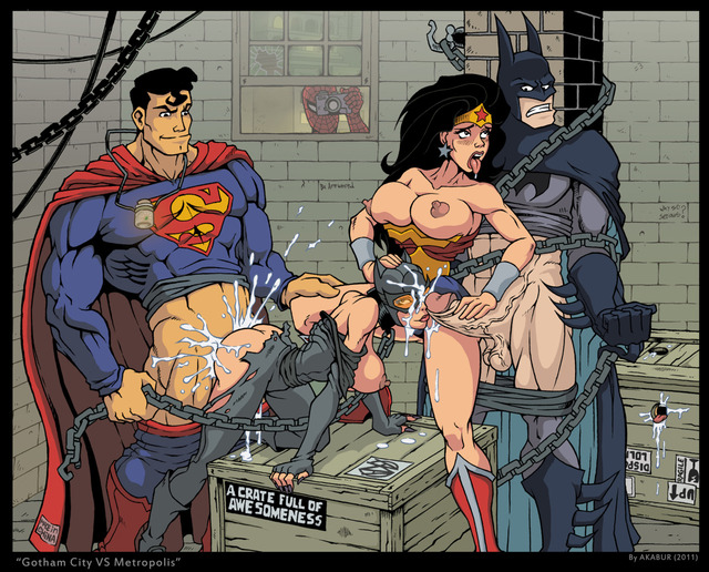 catwoman e hentai woman crossover superman batman catwoman marvel man spider wonder bfb akabur