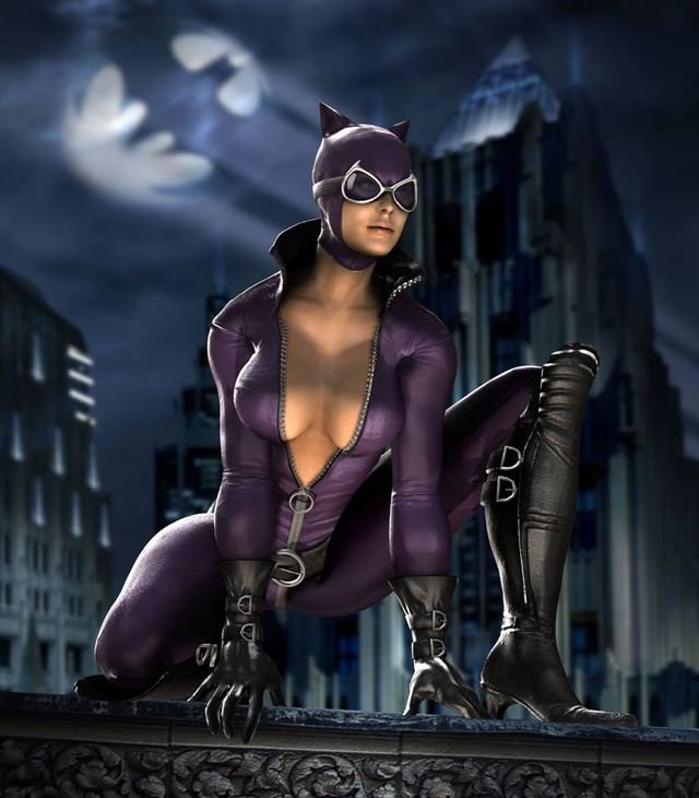 catwoman hentai game that games mature catwoman made should mortal kombat back our rated brought sexier