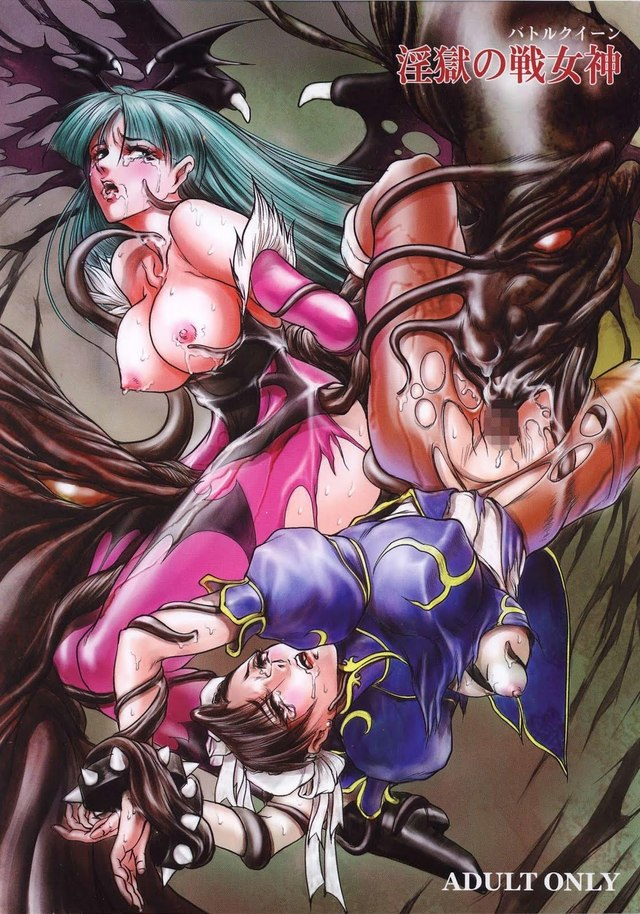 chun li and cammy hentai hentai search net xxx from devilattack cosplay morrigan aensland monsters chun cammy gothu