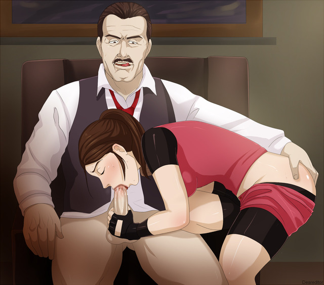 clair redfield hentai evil media resident claire brian redfield deareditor irons