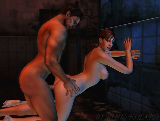 clair redfield hentai evil valentine resident chris jill redfield mintofoularis