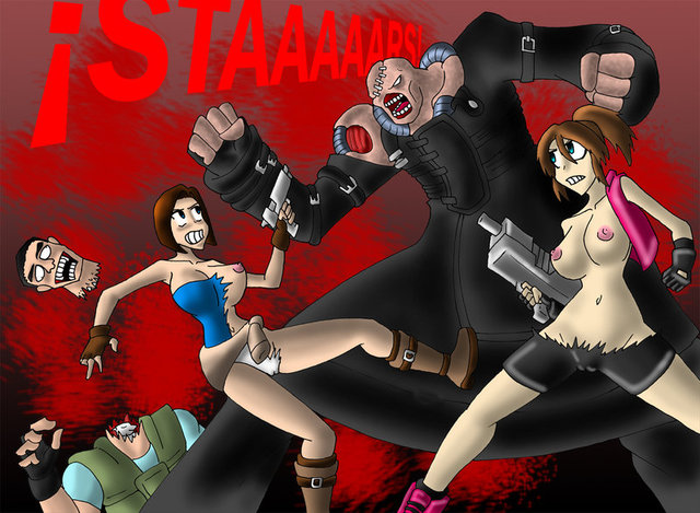 claire redfield hentai evil cae valentine resident jill claire redfield nemesis