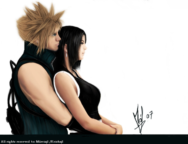cloud and tifa hentai art heaven tifa cloud strife lockhart keishajl
