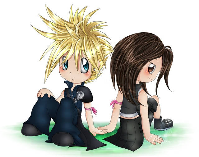 cloud and tifa hentai chibi tifa cloud bond elyflycorn