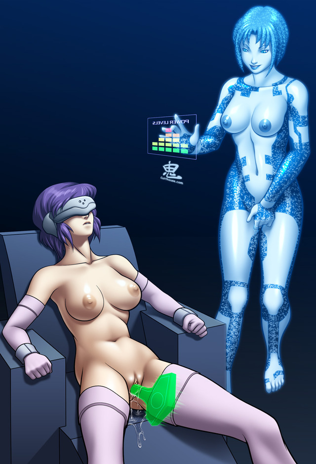 cortana hentai flash all page pictures user oni commission motoko cortana