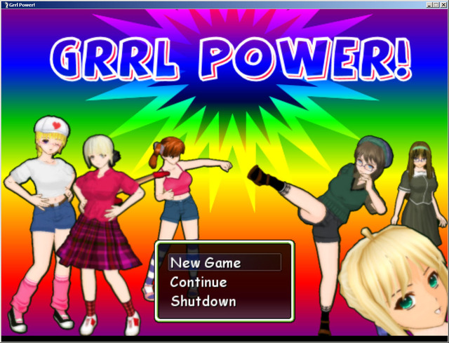 create your own hentai girl power grrl