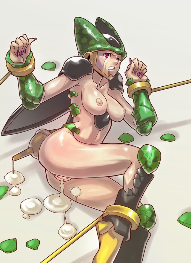 dbz cell hentai page search pictures dragon comic lusciousnet ball dragonball query