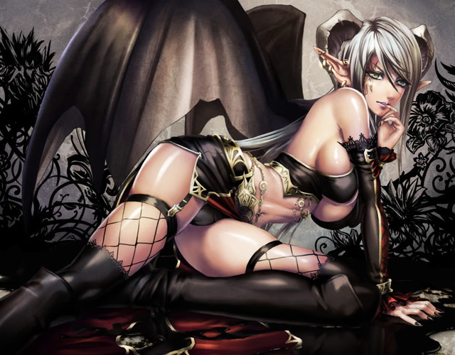 demon girls hentai anime albums girl girls demon succubus devil curiouschicken theanimega