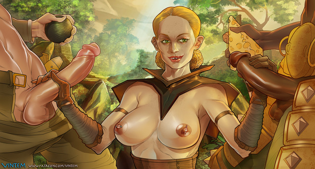 dragon age hentai pics page some creative doing calpernia bartering