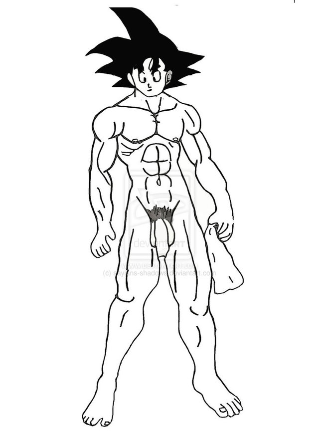 dragon ball z goku hentai dragon son goku ball shadows debdb adccff sayians