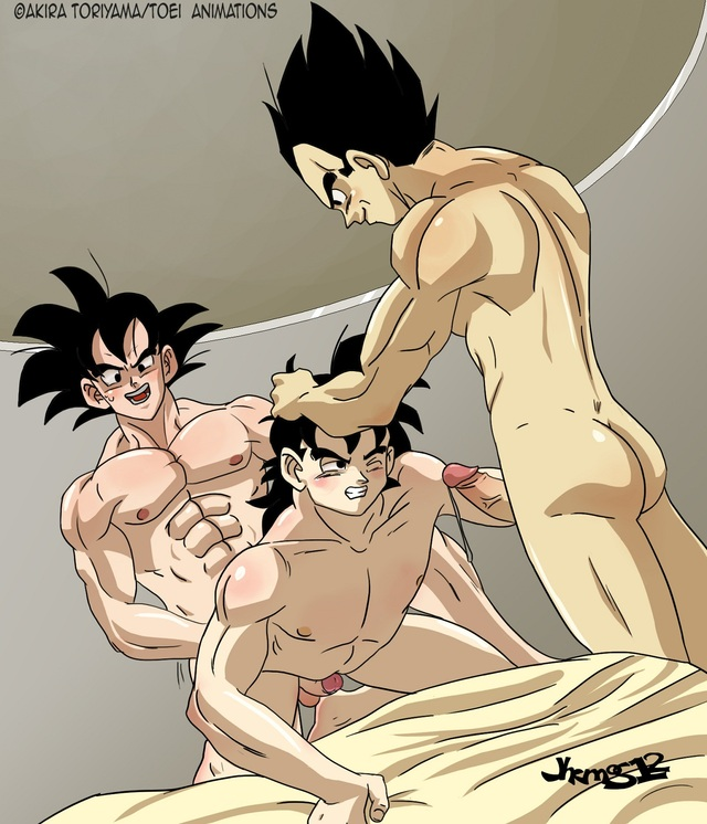 Goku and vegeta gay sex