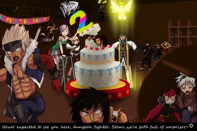 dungeon fighter hentai happy pre digital morelikethis fanart drawings birthday dfo petas osw