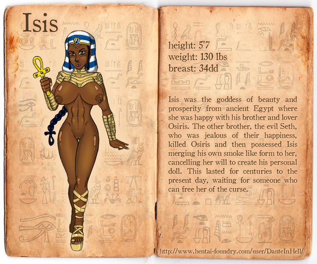 egyptian hentai pictures user isis sheet danteinhell