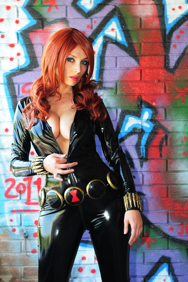 eiken club hentai comics original media widow marvel african american giorgiacosplay