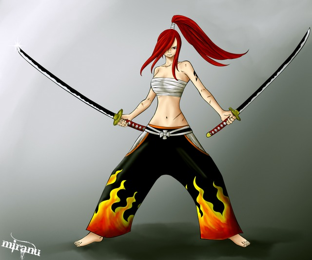 erza hentai pics albums users mix size userpics wallpapers uploaded erza scarlet miranu