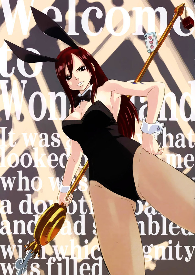 fairy tail erza hentai albums tail girl fairy users cleavage mix size userpics wallpapers bunny moe uploaded erza scarlet