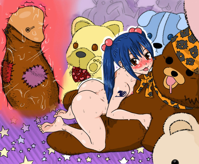 fairy tail levy hentai tail fairy pedobear rub wendy marvell