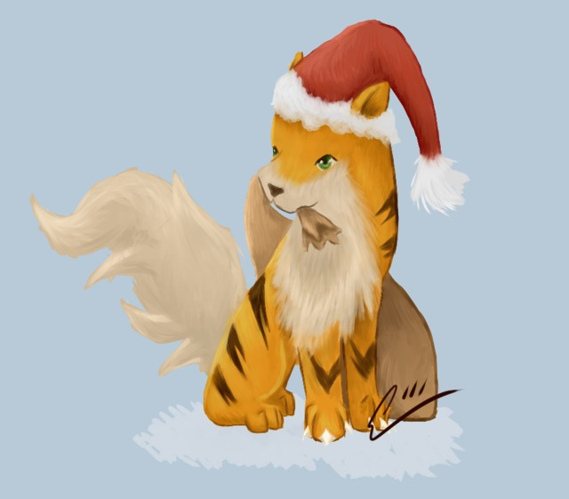 fairy tell hentai games digital morelikethis fanart santa painting growlithe aerolyx fdn