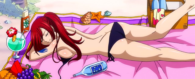fairy tell hentai episode tail fairy review ova user sexy lucy flare erza fairytail miskos