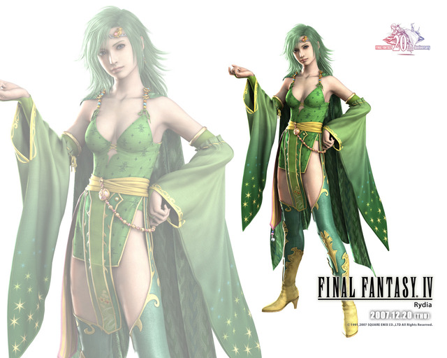 final fantasy 4 rydia hentai wallpaper rydia