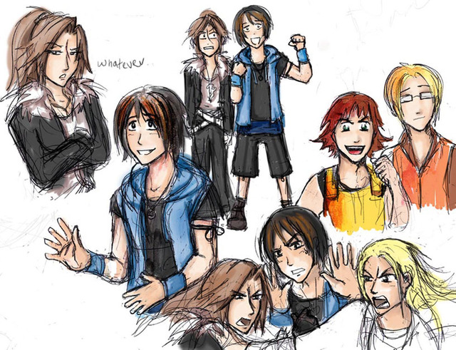 final fantasy viii hentai final games digital morelikethis fantasy fanart painting genderbend jassikorandoms