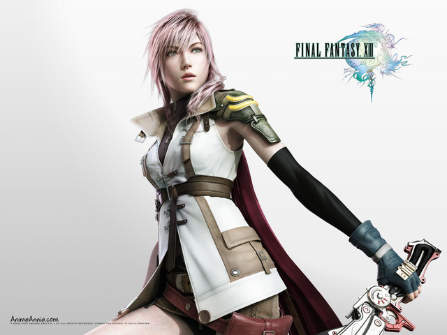 final fantasy xiii serah hentai anime final girls fantasy lightning xiii lightening