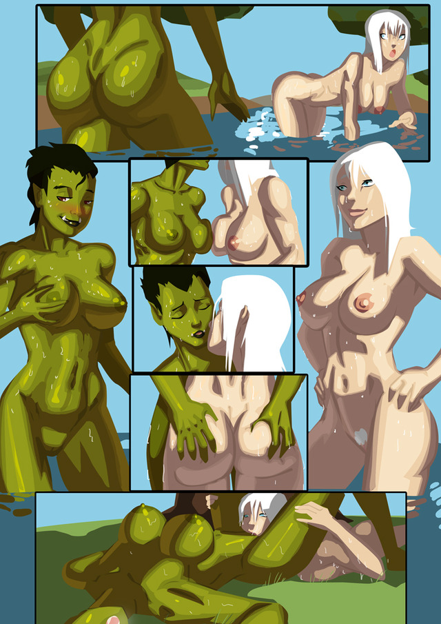furry and human hentai pictures user orc human morganagod