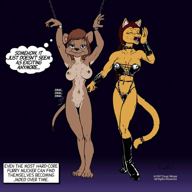 furry bondage hentai bdsm adult art furry artwork lezdom