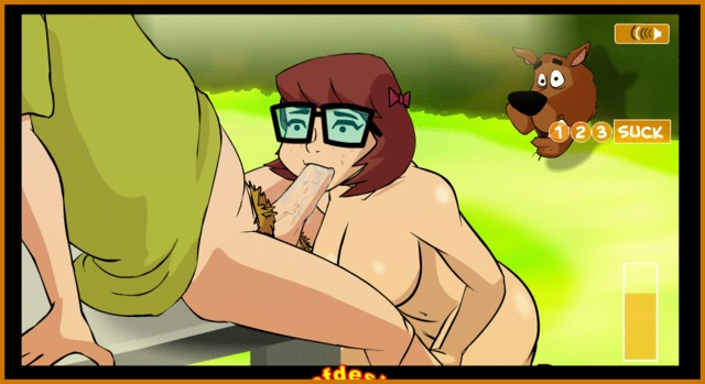 gay scooby doo hentai all that shaggy are was dick hard they scooby watched attention velma dinkley noticed paying didn sexporntoons