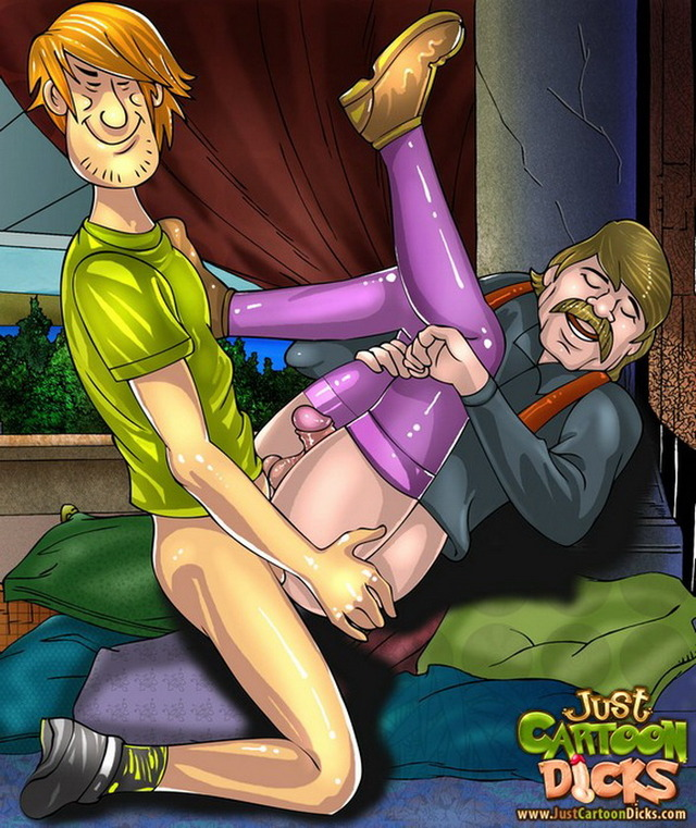 gay scooby doo hentai series ass from attachment shaggy cartoon gets dicks scooby doo gay destroyed