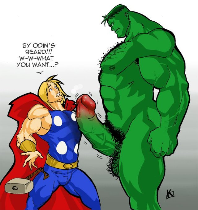 gay superhero hentai page after pictures album pics superheroes hulk thor lusciousnet gay superhero lusts