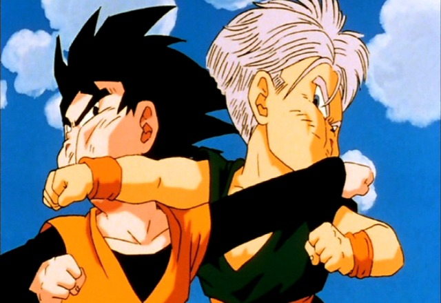 goten trunks chichi hentai free trunks group land dragonball message goten fights