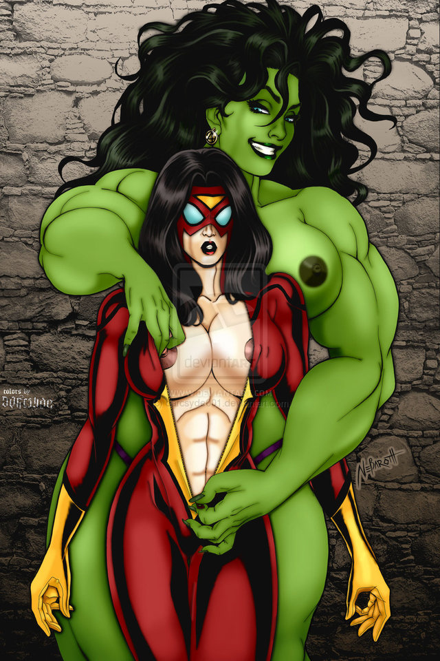 First Hulk sex games her ample