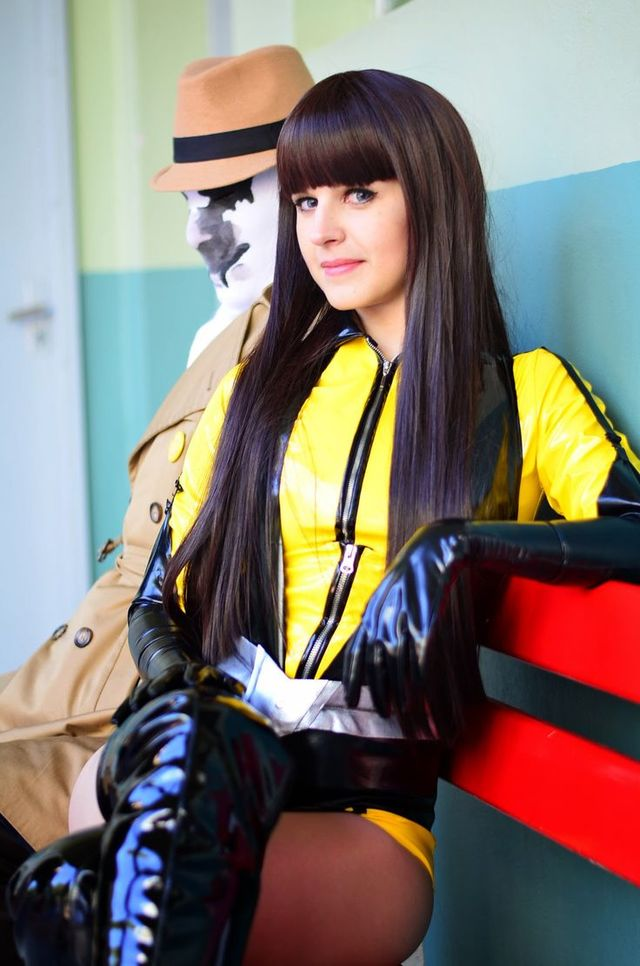 silk spectre hentai cosplay feee bbdff meshellyg