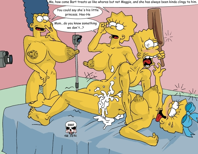 simpsons hentai sex pics lisa fear simpsons simpson maggie marge bart