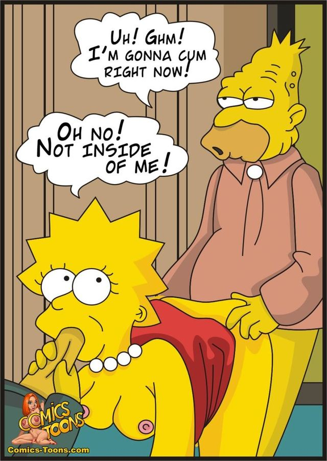 simpsons porn hentai porn media lisa simpson marge