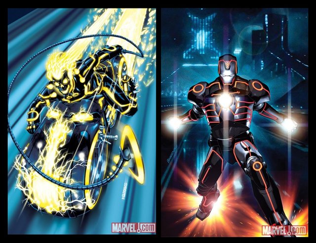spider riders hentai marvel tron tronmarvel variants